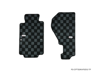 P2M HONDA S2000 AP2 RACE FLOOR MATS : DARK GREY