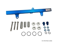 P2M NISSAN S13 SR20DET BILLET ALUMINUM FUEL RAIL KIT - TOP FEED