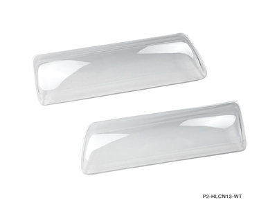 P2M NISSAN S13 JDM SILVIA CLEAR HEADLIGHT COVERS
