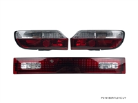 P2M NISSAN 180SX 3PCS REAR TAIL LIGHT KIT [CRYSTAL STYLE]