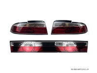P2M NISSAN S14 ZENKI 3PCS CRYSTAL REAR TAIL LIGHT KIT