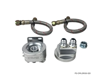 P2M NISSAN SR20DET OIL FILTER RELOCATION KIT