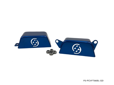 P2M FT86 PULLEY COVER BLUE