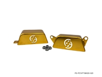 P2M FT86 PULLEY COVER GOLD