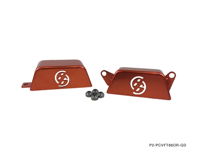 P2M FT86 PULLEY COVER ORANGE
