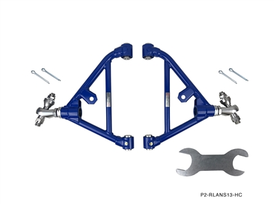 P2M NISSAN S13 1989-94 240SX ADJUSTABLE REAR LOWER CONTROL ARMS