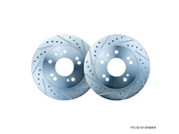 P2M NISSAN 1989-98 240SX REAR BRAKE ROTORS