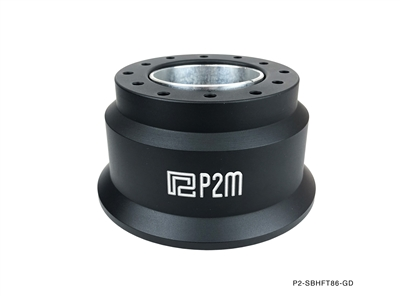 P2M TOYOBARU 86 BILLET ALUMINUM 60MM STEERING WHEEL HUB ADAPTER