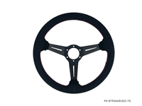 P2M COMPETITION STEERING WHEEL : 340MM DEEP CORN SUEDE