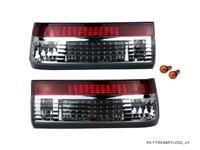P2M TOYOTA AE86 GTS COROLLA HATCHBACK 2PCS CRYSTAL REAR TAIL LIGHT KIT [LED VERSION]