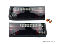 P2M TOYOTA AE86 GTS COROLLA HATCHBACK 2PCS SMOKED REAR TAIL LIGHT KIT [LED VERSION]