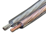 CONECT IT, 00-18-50, 18 AWG 50 FT, Clear Speaker Wire, Audio Series