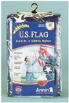 Annin Flagmakers, 002215R, 4' X 6' Nylon Replacement Flag