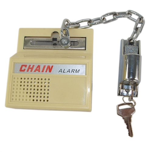 Guard 0330 Door Chain Burglar Alarm Keyed Lock Key Lock