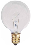 True Value Westinghouse, 03740-54, 15GC, 2 Pack, 15W, 120V, Clear, Vanity Globe, Light Bulb, Candelabra Base