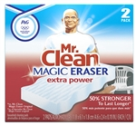 Procter and Gamble, 04249, 2 Count, Mr. Clean Magic Eraser Extra Power