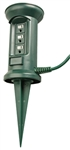 Master Electrician, 05777ME, 25', 16/3, STJW, 3 Outlet Outdoor Green Power Stake