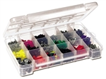 Akro Mils 05905 Plastic Parts Storage Case for Hardware and Craft, Large, Clear