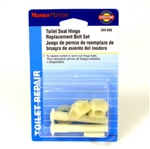 William H Harvey Master Plumber, 064030-288, 1 Pair, Plastic Toilet Seat Hinge Bolt