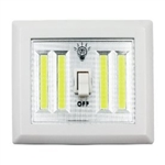 Diamond Visions 08-1714 COB LED Dual Wireless Night Light with Switch 400 Lumens