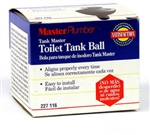 Master Plumber, 091457, Rubber, Water Master, Universal Size, FIT ALL Toilet Tank Ball