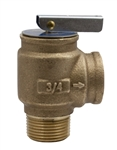 "Apollo Valve 10-417-09 Safety Relief Valve, 45 PSI Set Pressure, 3/4"" NPT Male x 3/4"" NPT Female"