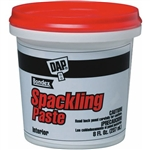 Dap, 10200, 1/2 PT 8 OZ, Pre-Mixed Spackling Putty, Fills & Conceals Small Cracks