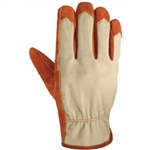 Wells Lamont 1033L Large Mens Heavy Duty Cowhide Leather Glove