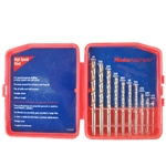 Tuff Stuff, 93413, 13 Piece High Speed Steel Drill Bit Set Carded