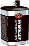 Eveready, 1209, General Purpose, 6V Super Heavy Duty Spring Terminal Lantern Battery