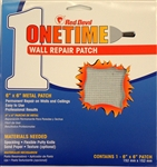 "Red Devil 1216 6"" x 6"" Onetime Wall Repair Patch"