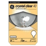 Ge Lighting, 12980, 40G25, 40W, 120V, Clear, Globe Light Bulb