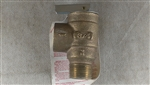 "Apollo Valve 13-511-08 Safety Relief Valve, 15 psi Set Pressure, 3/4"" NPT Female x 3/4"" NPT Male"