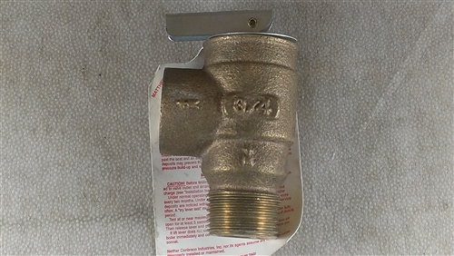 3//4 NPT Male x Female 3//4 NPT Male x Female Conbraco 13511B08 8 psi Set Pressure ASME Steam Apollo Valve 13-511 Series Bronze Safety Relief Valve
