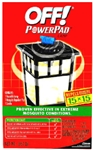 S C Johnson Wax, 14157, Off! Powerpad Lamp, 1 Reusable Lamp, Candle & Mosquito Repellent Pad