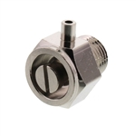 "Wal-rich 1701204 1/8"" Stubby Coin Air Valve (Nickel Plated)"