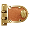 Progressive 1776/10 Grade 1 Jimmy Proof Deadlock Deadbolt Single Cylinder Lock Set, Bronze (US10)