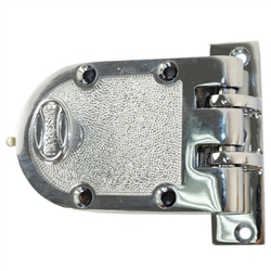 Progressive 1776/26 Grade 1 Jimmy Proof Deadlock Deadbolt Single Cylinder Lock Set, Polished Chrome (US26)