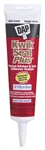 Dap, 18526, Kwik Seal Plus, 5.5 OZ, White, Kitchen & Bath Microban Caulk