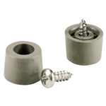 "Shepherd 19150 4 Pack 5/8"" Gray Plastic Screw Bumpers"
