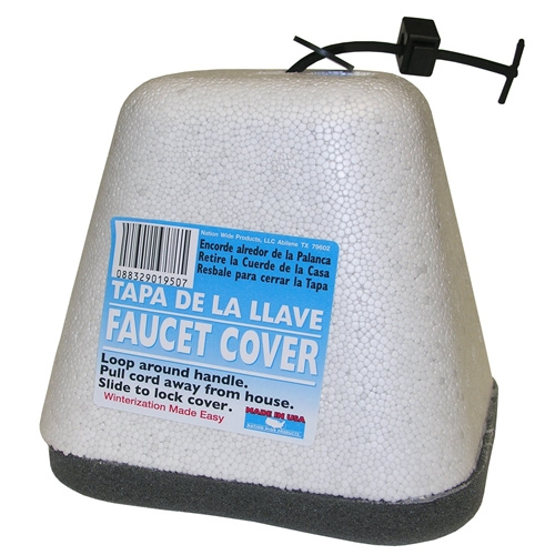 Nation Wide Products 1950 Oval Outdoor Faucet Insulation Cover With Styrofoam Shell