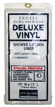 "EX-CELL, 1ME-040O0-0699-960, 70"" x 71"", Deluxe Magnetic Shower Curtain Liner, Clear"