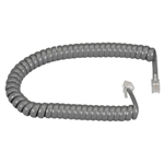CONECT IT, 20-525GR, 25', GRAY, COILED MODULAR HANDSET CORD