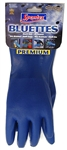 Bluettes, 20005, Extra Large, Blue, Household Glove, Heavy Duty Neoprene