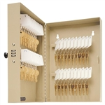 MMF, 201204003, 40 Storage Key Cabinet with Combo Lock, Sand, Steel