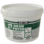 Por-Rok 21325-000 3.25 LB Pail Dash Patch Floor Leveler & Wall Patch, Can Be Used With Joint Compound To Set Fast