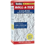 Zinsser, 22234, Roll-A-Tex, 1 LB, Coarse, Texturing Additive
