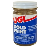 United Gilsonite UGL, 23503, 2 OZ, Gold Paint, Brilliant Gold Leaf Finish