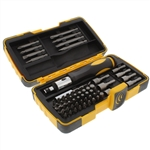 KC Professional 24007 63 Piece Ratchet Screwdriver Set With Case