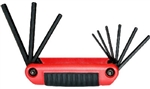 Eklind, 25911, 9 Piece Ergo Medium Handle Fold Up Hex Key Set